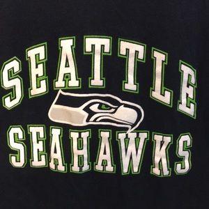 NFL Tops - NFL Seattle Seahawks t-shirt w/ glittering letters